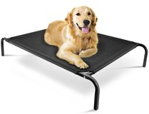 "Oxgord ""Travel Gear Approved"" Steel-Framed Portable Elevated Pet Bed Cat/Dog, 43.5 by 29.5"", Black in Bolingbrook, Illinois"