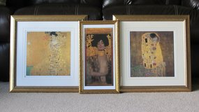 Framed Pictures (G.Klimt). in Naperville, Illinois