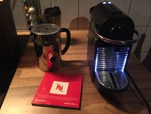 Nespresso pixie and Aerocchino in Ramstein, Germany