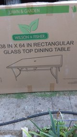 glass top table in Lawton, Oklahoma