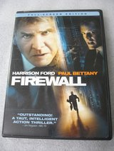 Firewall Movie DVD Harrison Ford in Naperville, Illinois