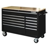 52 in. 11-Drawer Mobile Workbench with Solid Wood Top, 22 in. Extra Deep $500 in Salina, Kansas