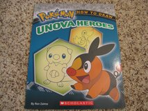 Pokemon - How to Draw Unova Heroes Book in Bartlett, Illinois