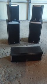 5 Yamaha speakers in Joliet, Illinois