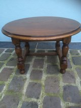 Antique little round table from France in Ramstein, Germany