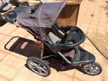 Range stroller in Yucca Valley, California