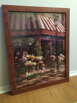 French flower shop framed picture in Fort Bliss, Texas