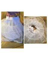Girls size small hoop skirt used for pageant dresses in Warner Robins, Georgia