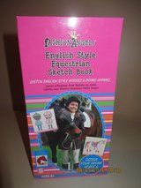 Fashion Angels English Style Equestrian Sketchbook - Used Very Good Condition in Glendale Heights, Illinois