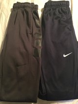 Sz Large Boys NIKE sweat pants in Baytown, Texas