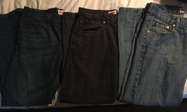 Sz 10 Husky, LEVI Jeans (3) in Baytown, Texas