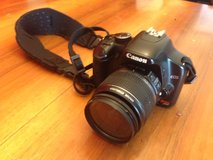 Used Canon Rebel XSi DSLR Camera with EF-S 18-55mm f/3.5-5.6 IS Lens in Stuttgart, GE