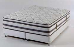 US Size Mattress - Innerspring.- Foam Memory - Energy - 5 Zone - Pillow Top in Hohenfels, Germany