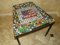 Bottle-top Side Table/Accent Table in Houston, Texas