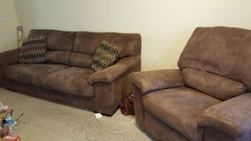 Couch and Recliner in Valdosta, Georgia