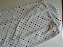 Carter's blue, green, and brown dots changing pad cover in Plainfield, Illinois