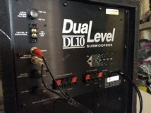 Sonance Dual Level 10in Subwoofer in Yucca Valley, California