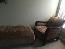 accent chair and ottoman in Fairfax, Virginia
