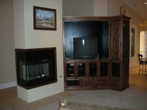"36"" Open Corner Non-Circulating Fireplace in Yucca Valley, California"