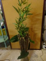 Bamboo Artificial plant in container in Bartlett, Illinois
