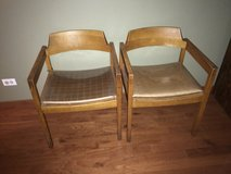 Antique chairs by W L Gunlocke chair co in Lockport, Illinois