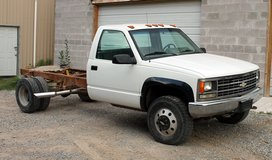 1990 3500 chevy 4x4 cab and chassis truck in Alamogordo, New Mexico