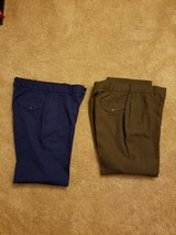 Dress blues trousers service trousers in San Clemente, California