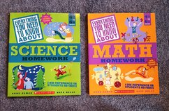 Scholastics books - 4th - 5th grade Math/Science _ NEW in Okinawa, Japan