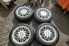 Fittipaldi rims with summer tires in Ramstein, Germany