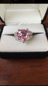 Rhodium plated ring AAA CZ in Lakenheath, UK