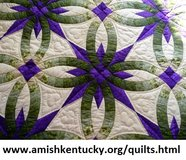 Amish Handstitched Quilts in Quad Cities, Iowa