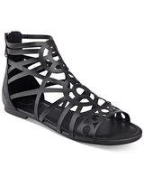 G by GUESS Women's Letsbe Black Sandal  7 1/2 new in Schaumburg, Illinois