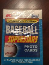 1990 Topps Baseball Superstars Photo Cards in Fort Campbell, Kentucky