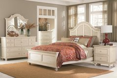 """CLEARANCE CENTER ~ Queen """"Cottage White"""" Bed in Beaufort, South Carolina"""