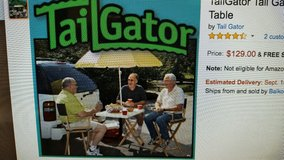 Table & Umbrella Hitch for Tail Gators in Conroe, Texas