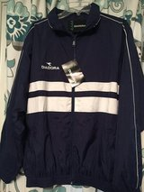 Great Present! Brand new men's Large Diadora Wind Jacket with matching pants in Clarksville, Tennessee