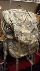 "Army ""UCP"" MOLLE II LARGE Rucksack W/Frame, Straps, Waistbelt & 2 Pouches in Fort Leonard Wood, Missouri"