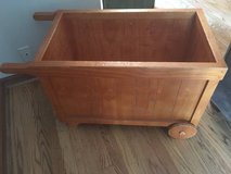 GREAT WOODEN CART/WHEELBARROW FOR KIDS -SOLID WOOD in Naperville, Illinois
