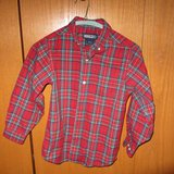 Toddler Lands End Christmas shirt Size L in Bolingbrook, Illinois
