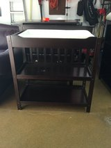 Changing Table - Espresso Color in Westmont, Illinois
