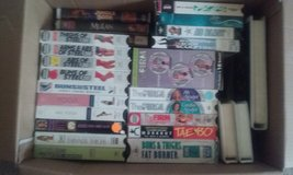 Assorted VHS Tapes in Beaufort, South Carolina