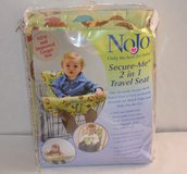 REDUCED! NOJO SECURE-ME 2 IN 1 TRAVEL SEAT (NEW) in Cherry Point, North Carolina