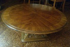 Round Coffee Table in Aurora, Illinois