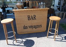 cool brand new bar with 2 stools in Wiesbaden, GE