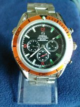 FREE SHIPPING !!! CLASSIC ORANGE BEZEL OMEGA SEAMASTER WATCH in Yuma, Arizona