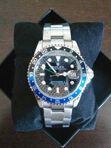 FREE SHIPPING !!! NEW BLUE ROLEX GMT MASTER WATCH in Yuma, Arizona