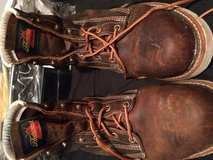 Thorogood steel toe work boots in Cleveland, Texas