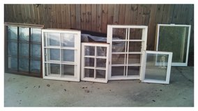OLD WOODEN WINDOWS in Cary, North Carolina