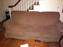 Couch  brown cloth   Nice in Hopkinsville, Kentucky