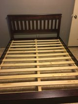 Wooden Full Size Bed Frame in League City, Texas